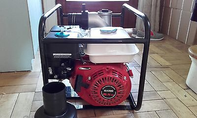petrol water pump 3 inch 75 MM 6.5 HP CHEAPEST ON EBAY 200 ENGINE