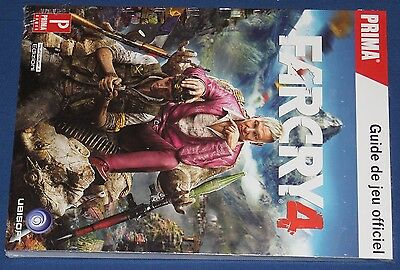 Guide Far Cry 4 Neuf Sous Blister/new And Sealed