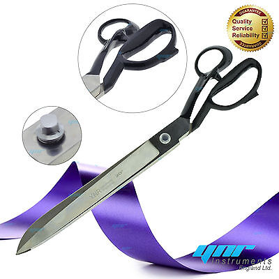 """YNR Quality Upholstery Tailor Scissors Ribbon Cutting Ceremony Cutter Shears 20"""""""