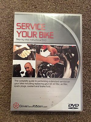 Service Your Bike DVD Motorcycle Mechanic Service Instruction