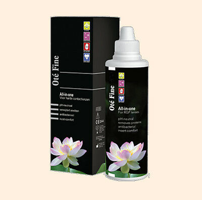 Oté Ote Fine All In One solution for RGP contact lenses 200ml & Case