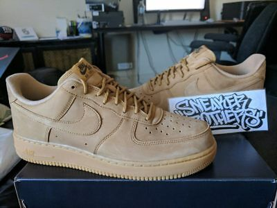 Nike Air Force One 1 '07 WB LV8 Flax Gum Light Brown Outdoor Green AA4061-200