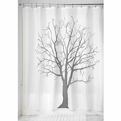 InterDesign Tree Tenda da doccia, Tenda per vasca da bagno con design ad (M8l)