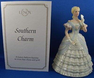 Lenox Southern Charm Female Figurine in a Gown NIB