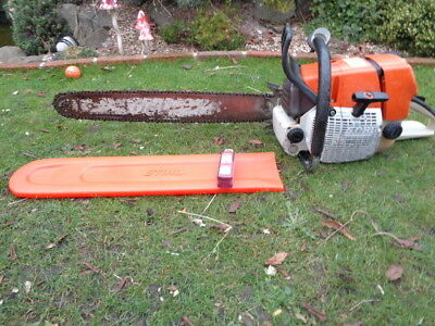 """Stihl Ms660 Chainsaw Just Serviced 25"""" Bar And Chain Very Powerful"""