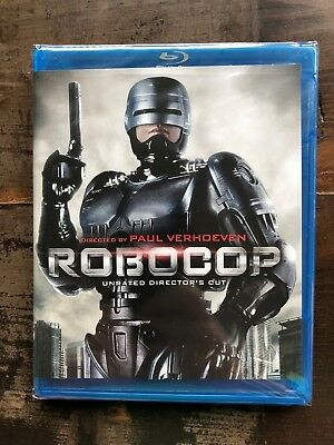 RoboCop  Remastered Unrated Director's Cut Blu-ray New Free Ship