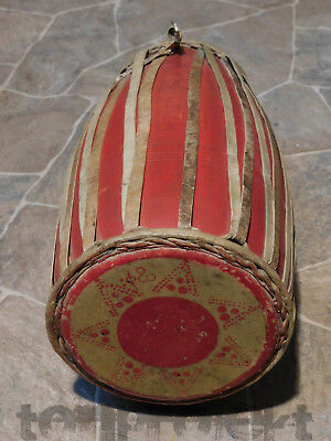 alte TABLA vintage indian Drum Trommel Burma Rangun Indien interessant