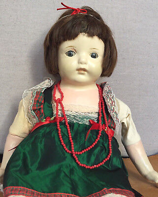 Rare Unusual Coven Witch's Haunted Spirited Rosemary Antique Vintage Doll Vessel