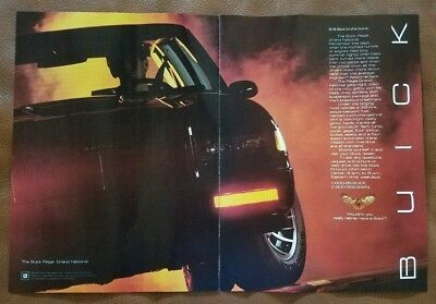 1985 Buick Regal Grand National 2-page Advertisement Print Art Car Ad