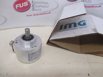IMG60B Robust Rotary Encoder With Clamping Flange For Industrial Use - Unused