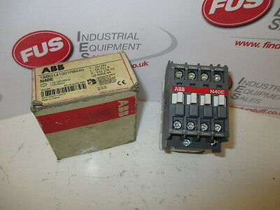 ABB N40E Contactor 110V - 120V coil 1SBH141001R8440 - Unused In Box