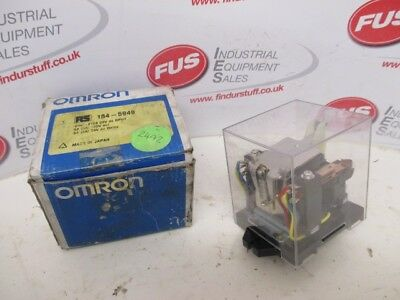 Omron DPDT Mount Latching Relay, 5 A, 24V dc For Use In Power Applications