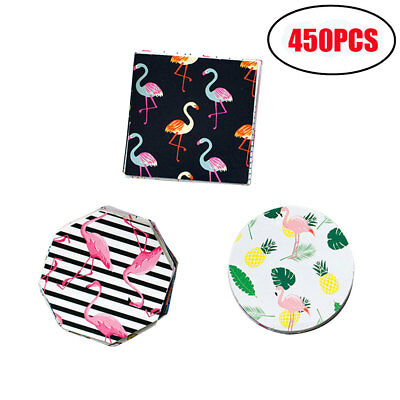 450PCS Flamingo DIY Scrapbook Paper Lable Stickers Crafts Decor Lifelog Sticker