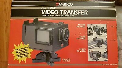 AMBICO Deluxe Video Transfer System (V-0652) Pictures / Movies / Slides