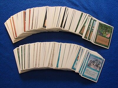 MTG Lot of 350 mixed 4th edition cards  Old school Legacy White Border