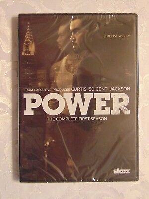Power - The Complete First Season (Dvd) New Sealed