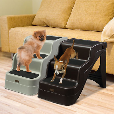 Dog and Cat Ramp, Folding Elevator Ladder with 3 Step - 2 Colors