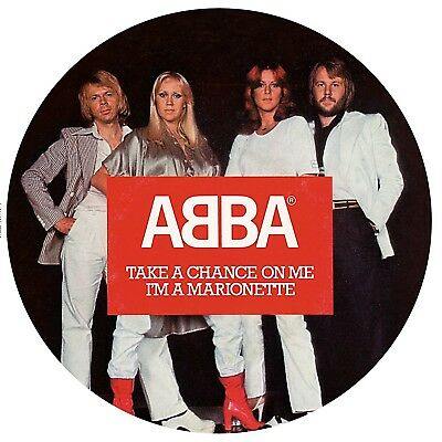 """Abba-Take A Chance On Me,i´m A Marionette Ltd7""""picture Disc Vinyl Lp Single New+"""