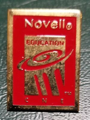 Vintage Official Novell Certified Netware Engineer Pin CNE  2 of them