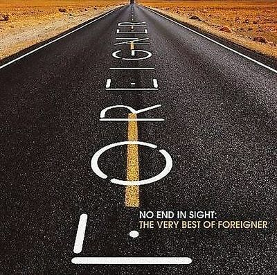 FOREIGNER No End in Sight Very Best of Foreigner 2CD 2008 Rhino BRAND NEW SEALED
