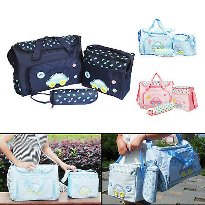 Baby nappy changing bag set 4PCS Brand New Cute diaper bags UK Seller