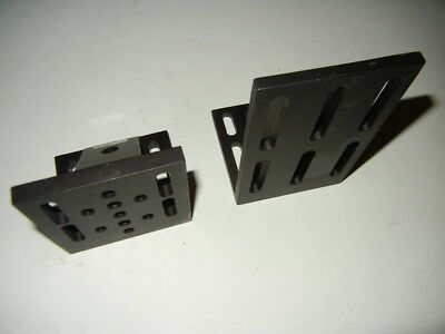 Newport & Thorlabs 360-90 Angle Bracket,Rigid 90° Angled Mounting Plate  1 + !