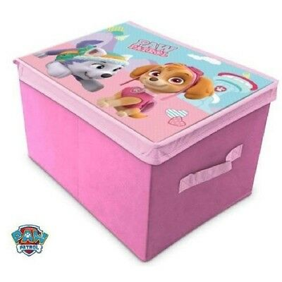 Storage Box Child Disney Paw Patrol Pat Patrouille Stella Pink