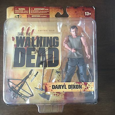 The Walking Dead Series 1 Daryl Dixon, Autographed By Norman