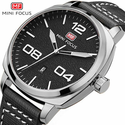 MINI FOCUS men's watches simple dial military waterproof sports quartz watch