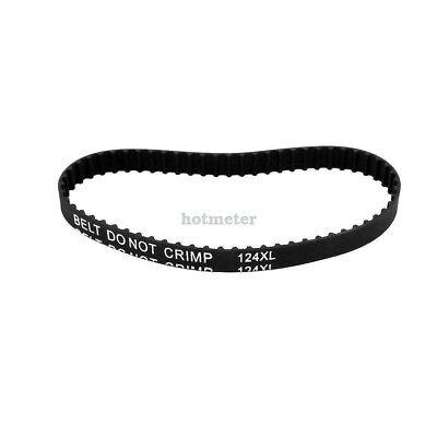 H● 124XL 62T Synchronous Closed Loop Rubber Timing Belt 314mm Perimeter