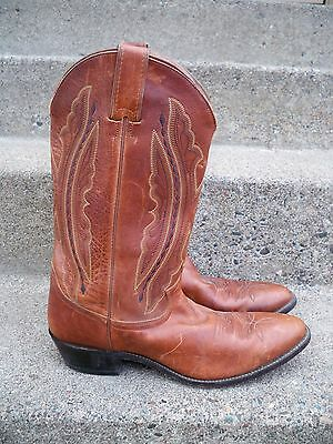 ec6134126b3a18 Justin  2421 Saltillo Cowboy Riding Rancher Western Men s Brown Leather  Boots 12