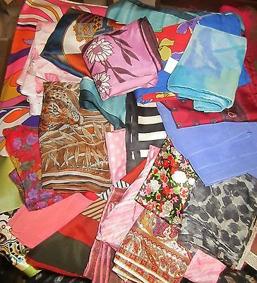 TERRIART BLOW-OUT Special Lot of 150 Asst LONG Scarves -Vintage