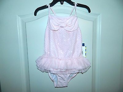 Girl's Pink One-Piece Swimsuit Size 4T-NWT