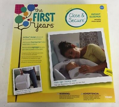 The First Years Close And Secure Sleeper, White
