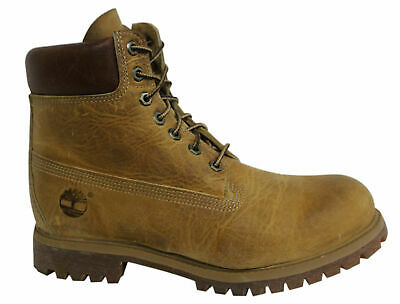 Timberland Earthkeepers 6 Inch Lace Up Mens Wheat Leather Boots 27092 T3