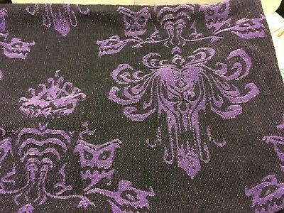 Disney Parks Haunted Mansion Attraction Wallpaper Socks Womens In Gorgeous Haunted Mansion Throw Blanket