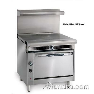 """Imperial - IHR-1FT-C - Diamond Series 36"""" French Top w/ Convection Oven"""