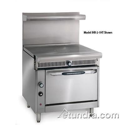 """Imperial - IHR-1FT - Diamond Series 36"""" French Top w/ Standard Oven"""