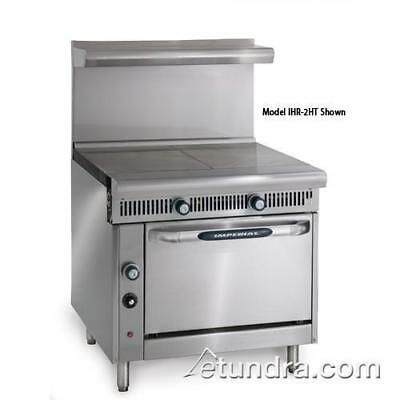 """Imperial - IHR-2HT-C - Diamond Series (2) 18"""" Hot Tops w/ Convection Oven"""