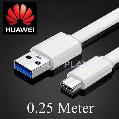 0.25m Type C USB-C Data Charging Cable Charger Lead For Huawei Mate 10
