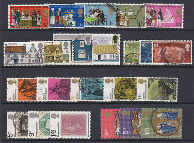 1970 Complete Commemorative Year Set ( 6 Sets ) Used