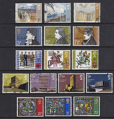 1971 Complete Commemorative Year Set ( 5 Sets ) Used
