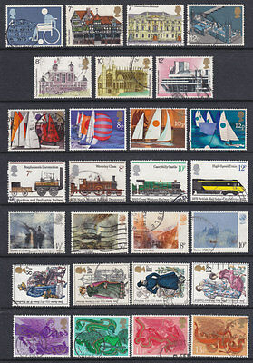 1975 Complete Commemorative Year Set ( 8 Sets ) Used