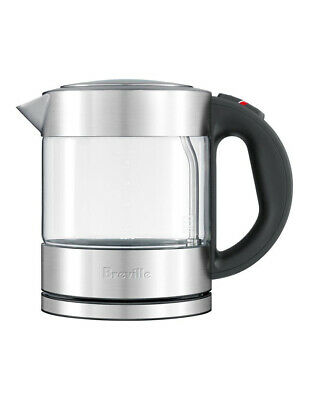 NEW Breville the Compact Kettle Clear BKE395BSS