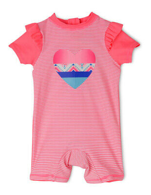 NEW Sprout Girls Swimsuit Coral