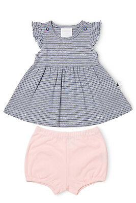 NEW Marquise Dress and Bloomer Set Navy
