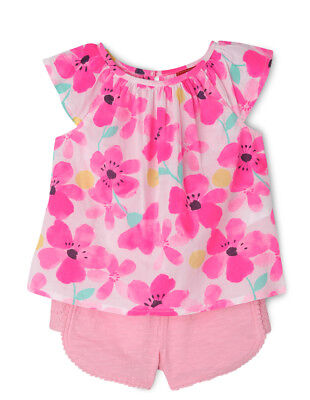 NEW Sprout Top & Short Set Pink