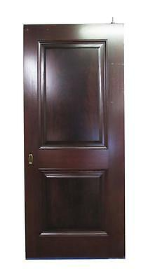 Two Panel Wooden Pocket Door