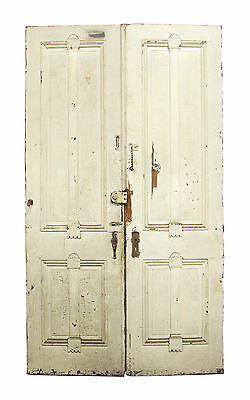 Pair of Salvaged Tall Wooden Doors