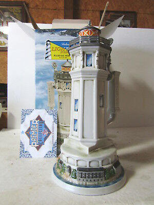Budweiser CS587 Alcatraz Island Light House Stein In Box Never Displayed